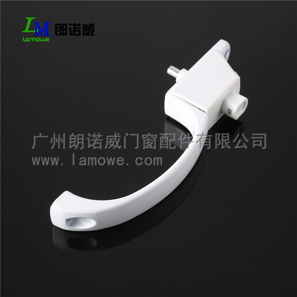 Screen window handle without key for aluminum door window accessories