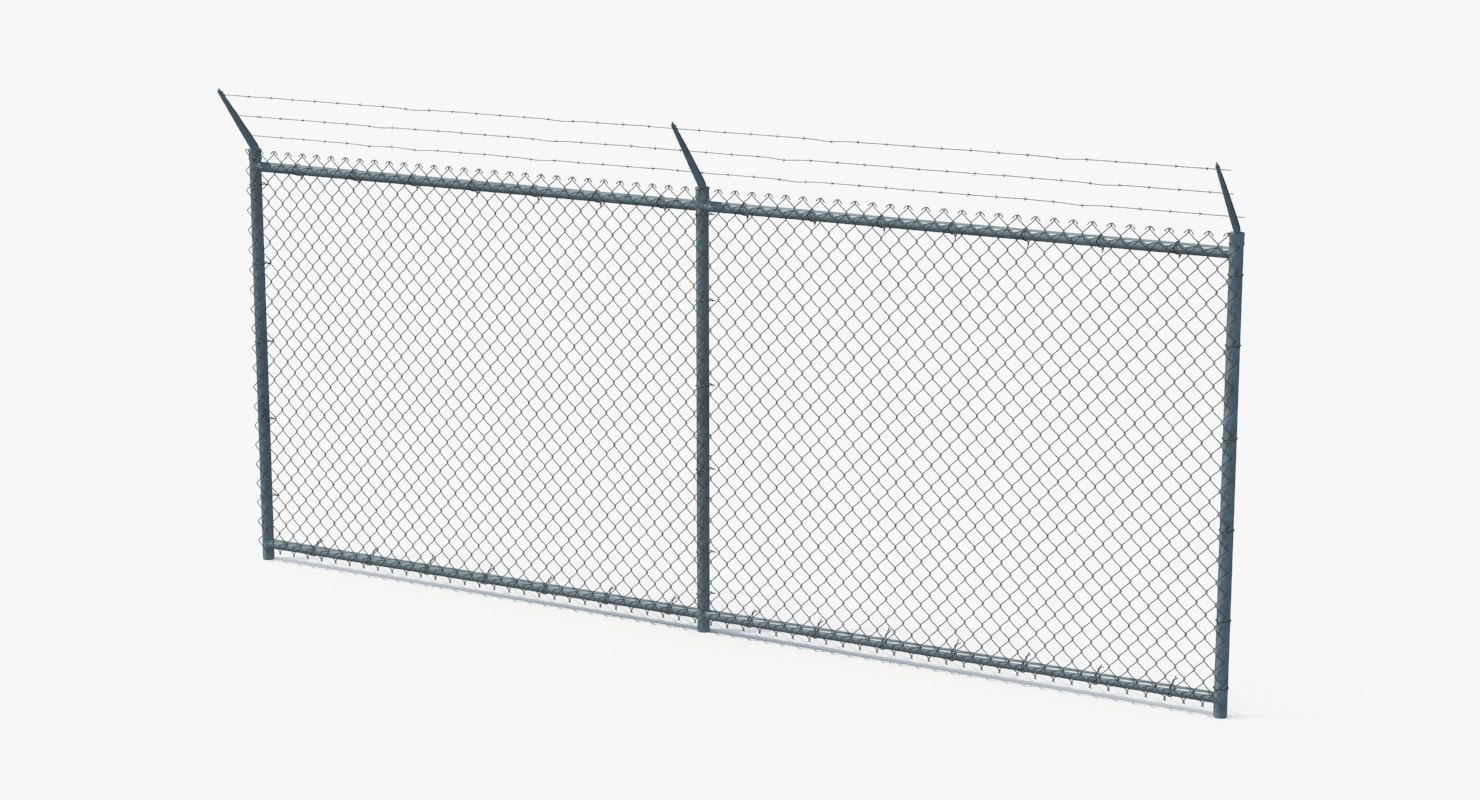 6ft x 10ft construction temporary chain link fence panels