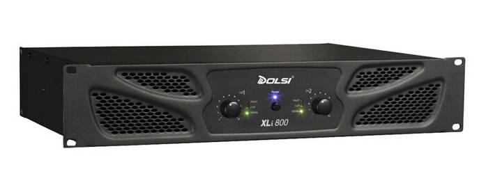 Double Channel 2U Professional Power Amplifier XLi series 250W to 1200W