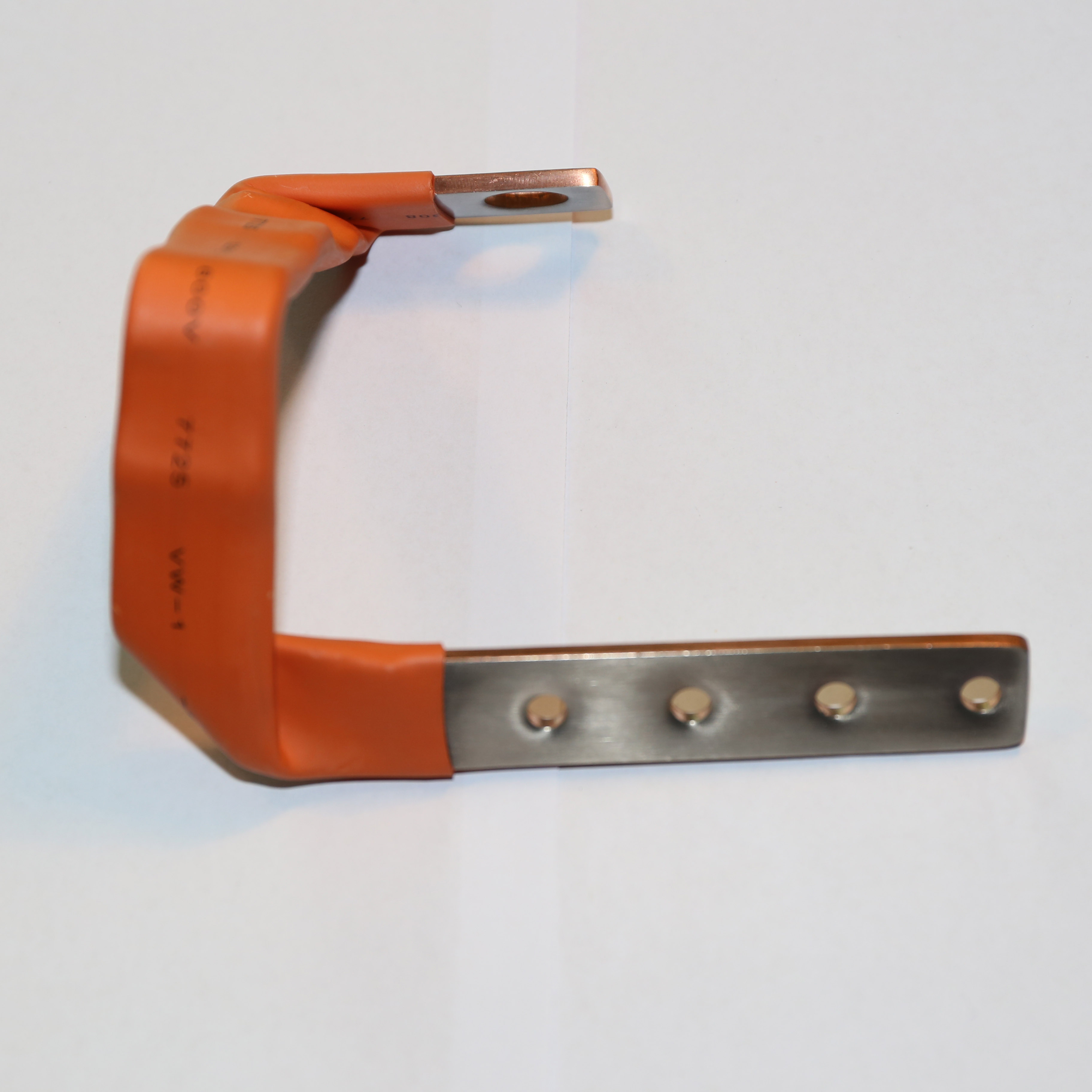 Fusion Welded Copper Flexible Busbar Connector for Auto Vehicle Automotive