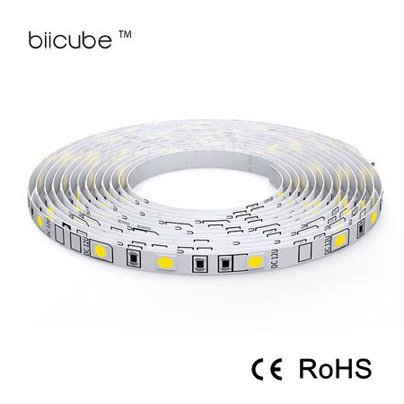 3000/4000/6000K 5m/10m/20m 60 leds DC 12v 5050 SMD LED strip lights manufacturer