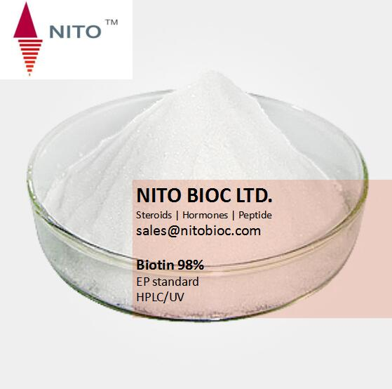 Supply Competitive Vitamin Biotin Price with high quality