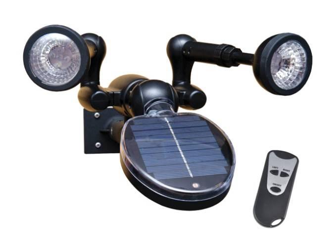 Solar Powered LED Landscape Lighting Waterproof Outdoor Landscaping Lights Bulb Spotlight