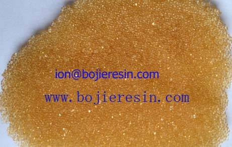 Cation resin for pharmaceutical applications.