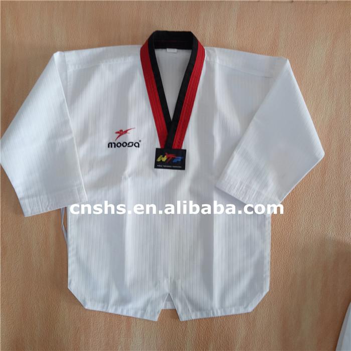 High quality OEM martial arts clothes taekwondo uniforms