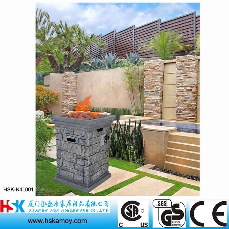Decorative Outdoor Heating Gas Fire Pit