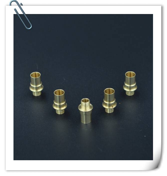 OEM cnc machining copper parts for electronic cigarette