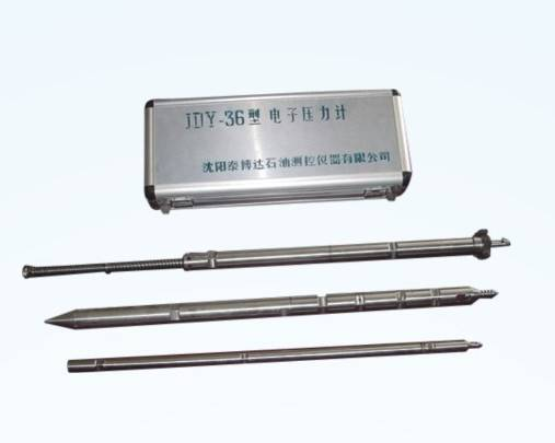 Oil well electronic manometer