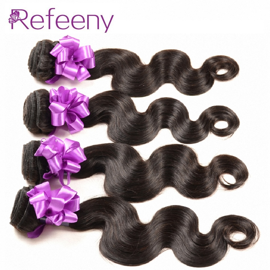 Brazilian body wave remy hair 4 pieces cheap wavy human hair bundles brazilian virgin hair extension
