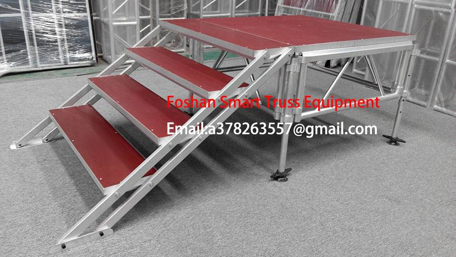 Aluminum stage stair/truss stage/live show