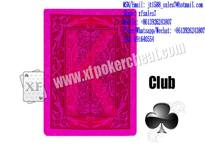 XF MAVERICK Paper Playing Cards Marked With Invisible Bar-Codes For Poker Scanners And Backside M