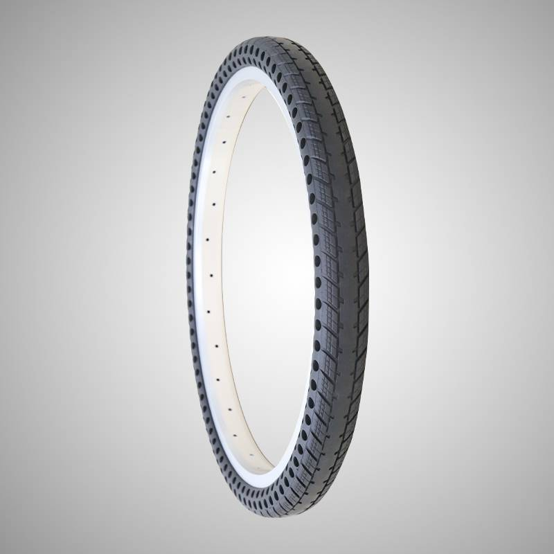 201.75 inch solid air free bicycle tire