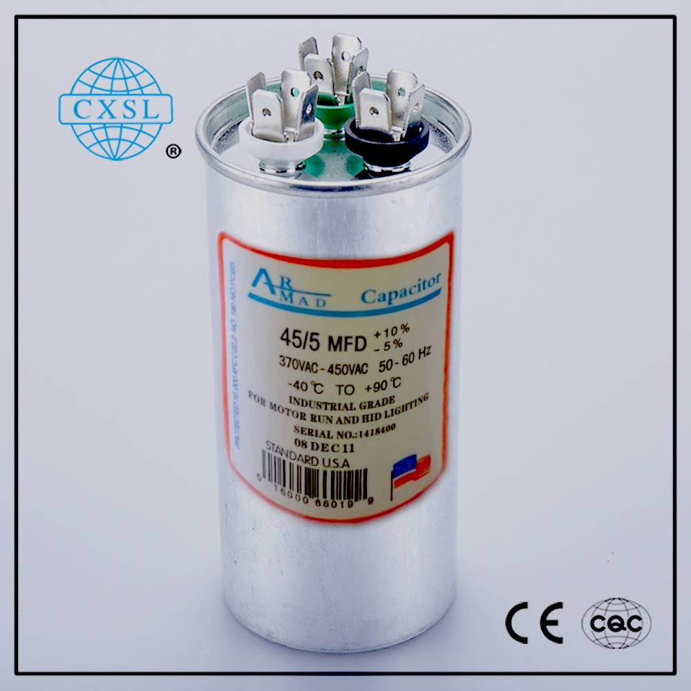 AC Capacitor CBB65 for Air Conditioner