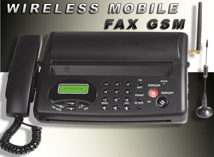 GSM fax Dubai: fax Machine For Remote Construction site Work on Wireless Mobile Network (Etisalat, D