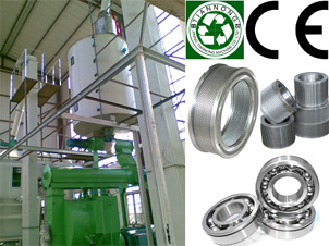 Complete Biomass Pelleting Plant  with Capacity 1-8ton/1hour