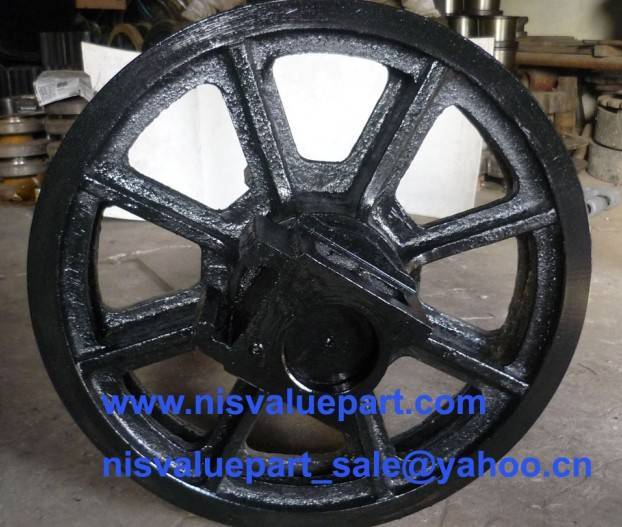 Front Idler Assy for Crawler Crane
