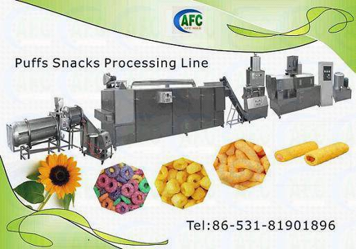 Extrusion Snacks Machine---Puffy Snacks Machine
