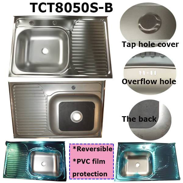 800x500x150mm Inox 201 Used Kitchen Sinks For Sale