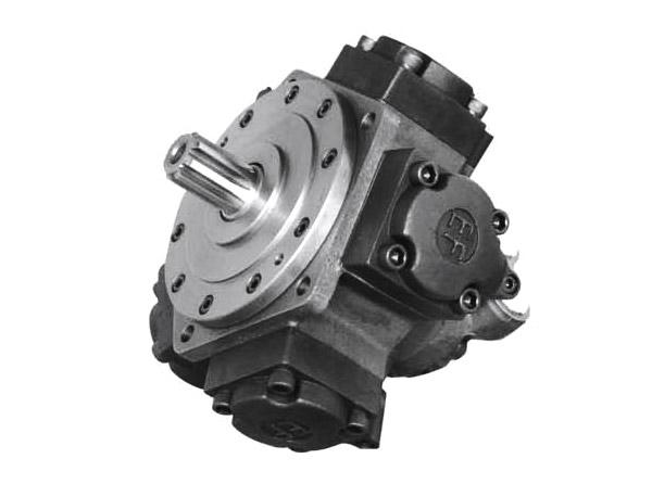 low speed high torque radial piston hydraulic motorYJMEF11
