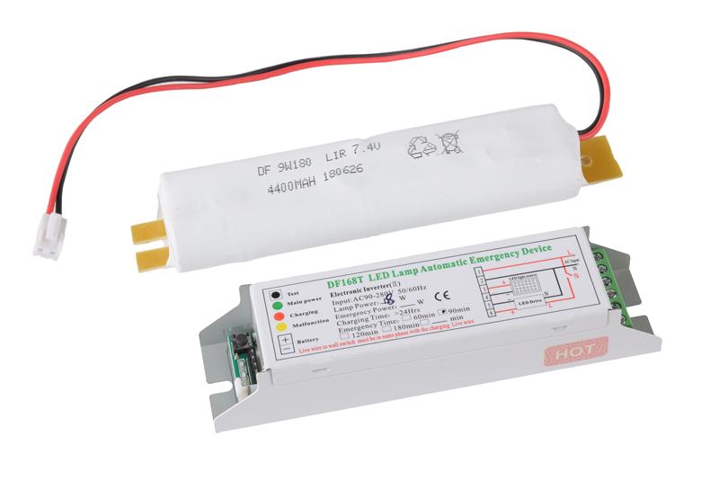 LED emergency lighting power supply DF168T 90 minutes 5 watts box fire emergency power