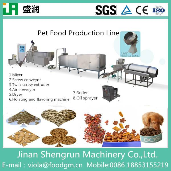 High quality automatic dry pet food machine