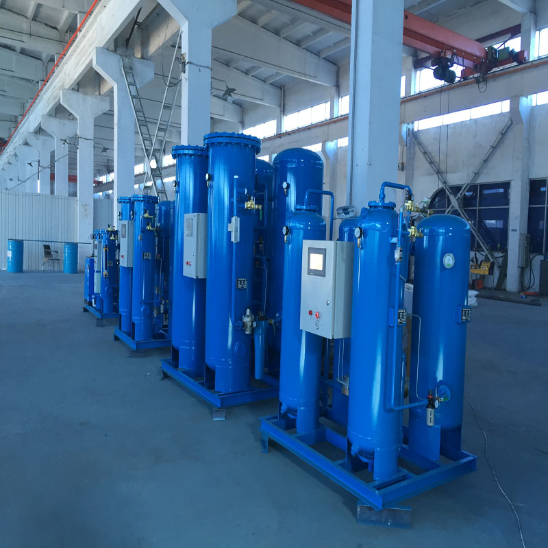 on-site oxygen generator or for filling oxygen cylinders