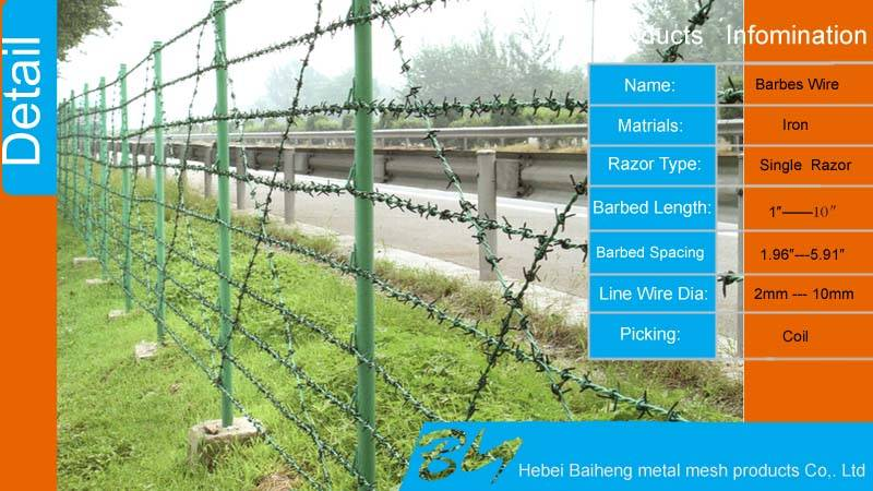 Anping export cheap Barbed wire