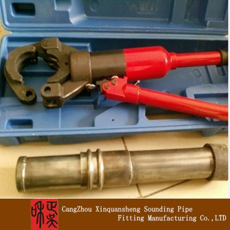 Pile foundation inspection pipe