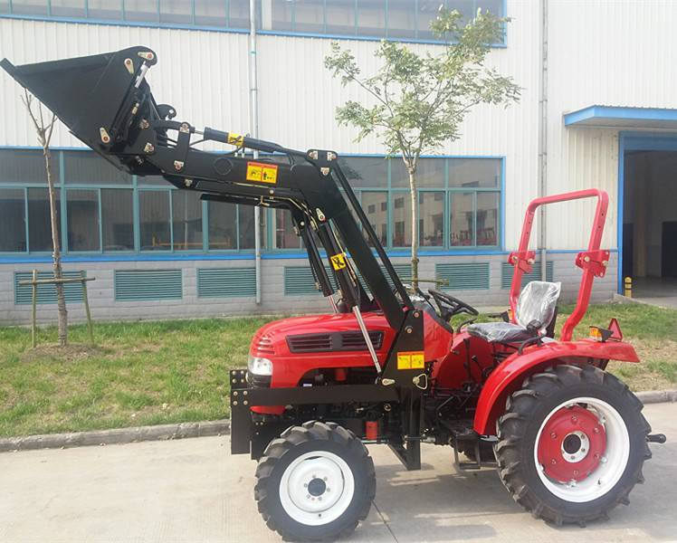 4WD hot sell tractor with front end loader