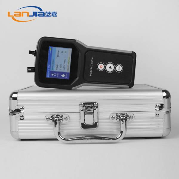 High quality laser particle counter