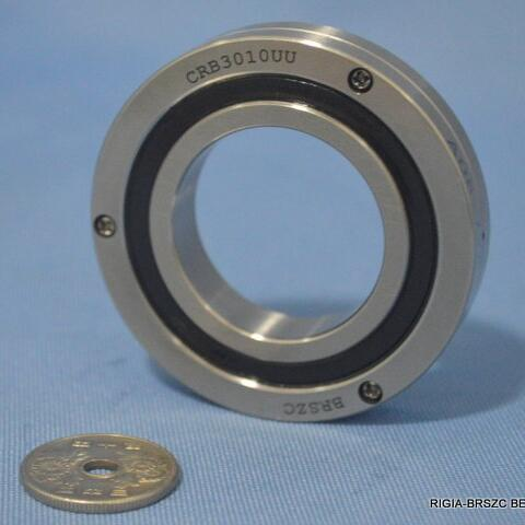 CRB3010UU Crossed Roller Bearing for swiveling tables of machining centers