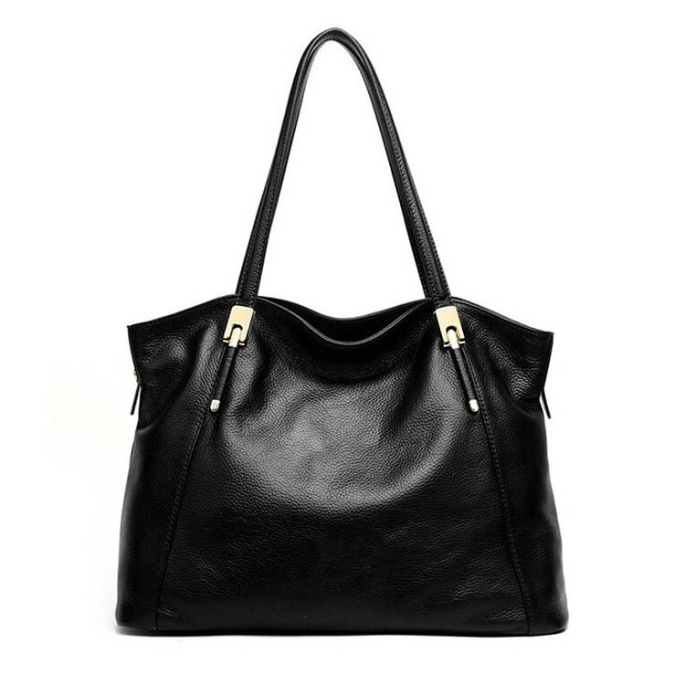Vintage Hot Style High Quality Genuine Leather Newest Design Ladies Handbag Export