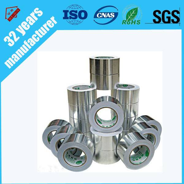China smellless aluminum foil tape with SGS certificate