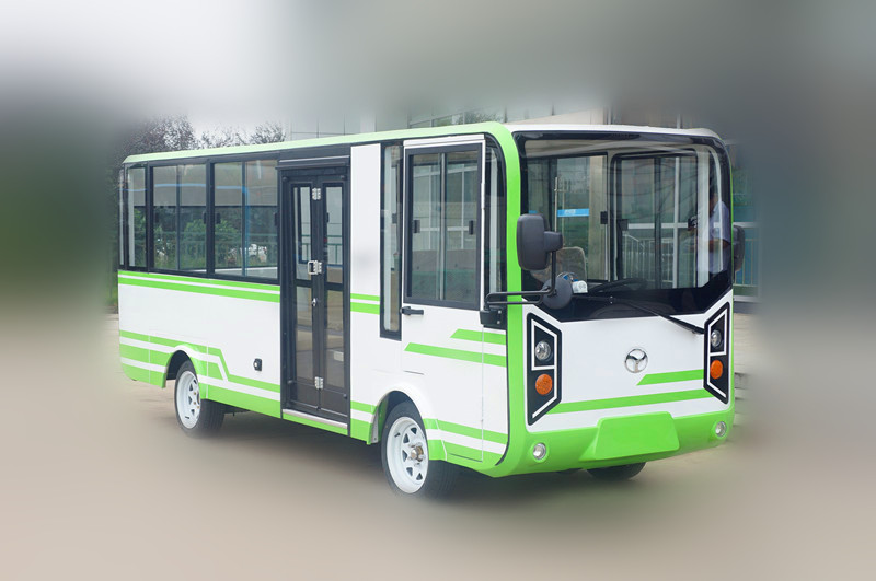 Electric sightseeing mini bus
