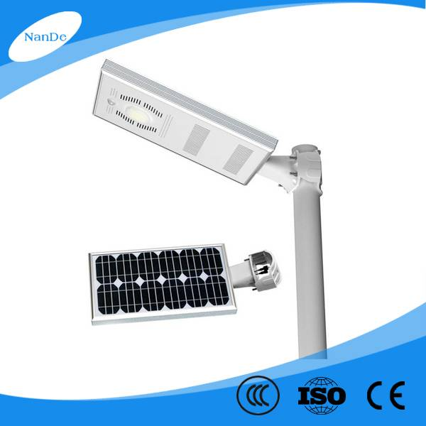 factory price high quality integrated solar street light for projects