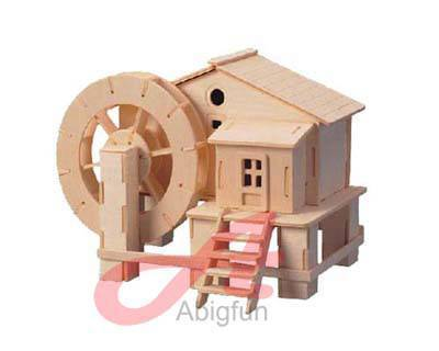 Watermill Hovel woodcraft construction kit building