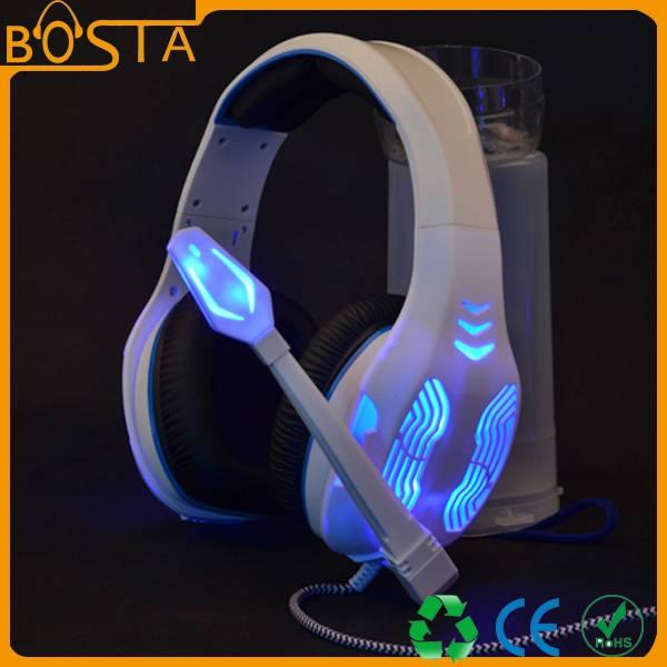 Thrilling freezing cool gaming headset / headphone
