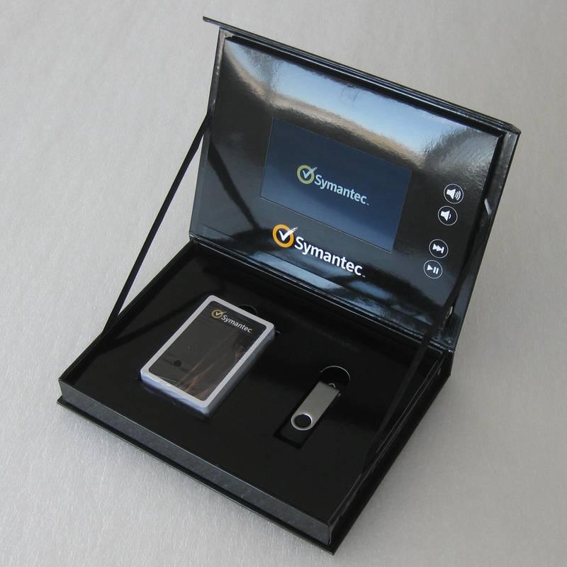 digital package box LCD video box