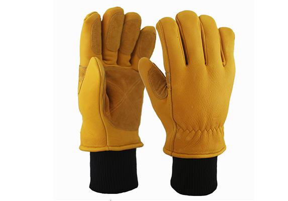 Buckskin Safety Work Gloves/BLG-02