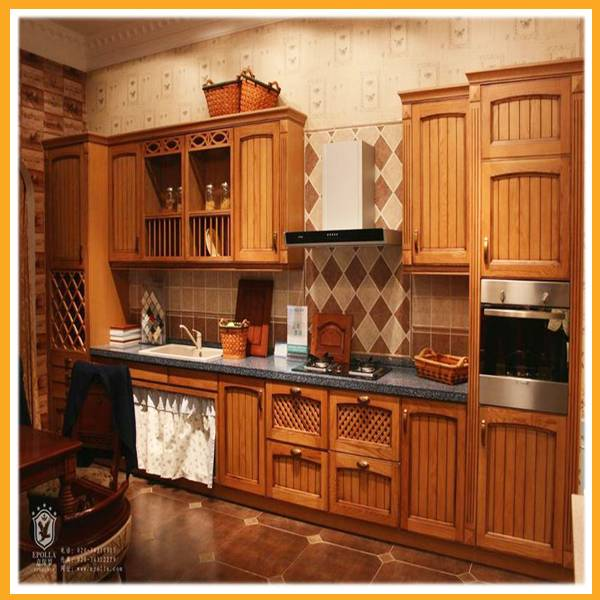 solid wood kitchen furniture kitchen cabinet