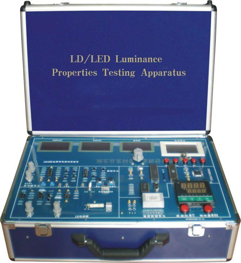 didactic educational equipment training device/ ES7401C LD/LED Luminance Properties Testing Apparatu