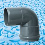 PVC Fittings for Water Supply with Rubber Ring Joint PN10 DIN Standard