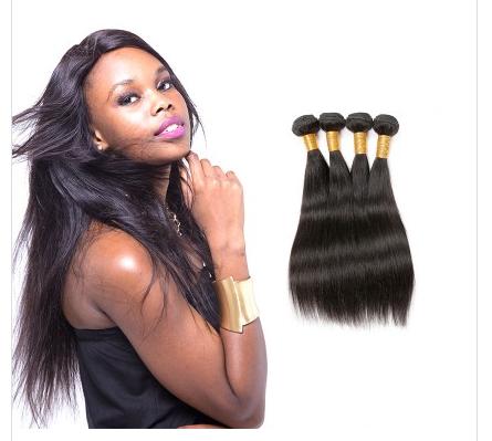 [8A]4 Bundles Peruvian Straight Hair Weave