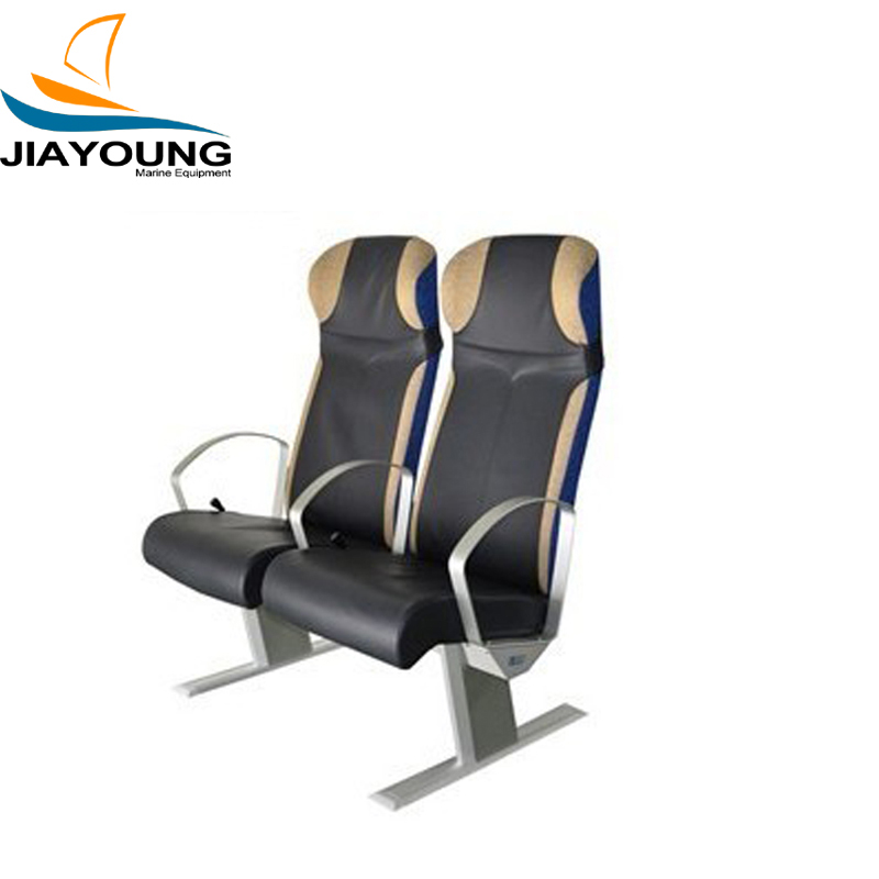 Marine Double Passenger Seat With PU Cover