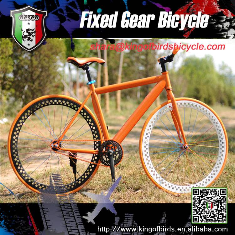 26 inch single speed mixed color fixie bike high quality fixed gear bike