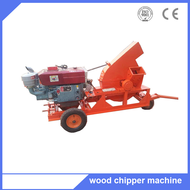 Disc wood waste chipper processing machine for wood processing machinery