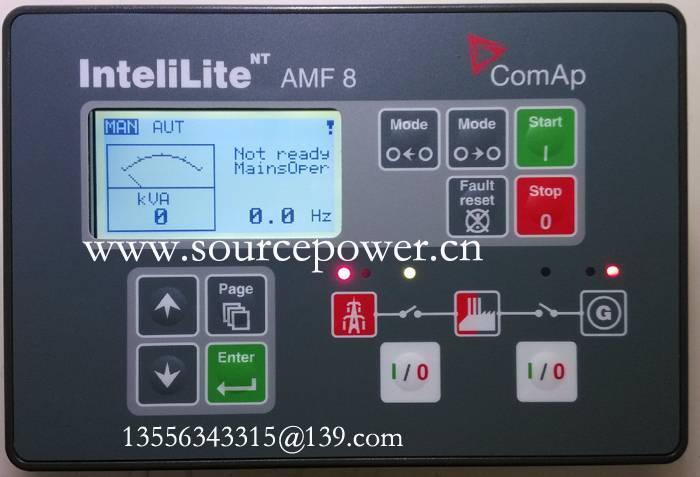 ComAp Auto Mains Failure Generating set Controller InteliLite NT AMF 8 IL-NT AMF 8