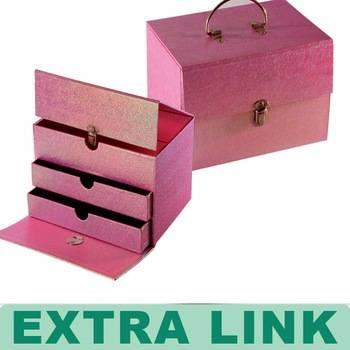 New Premium Custom Handmade Recyclable Decorative Cufflink Box