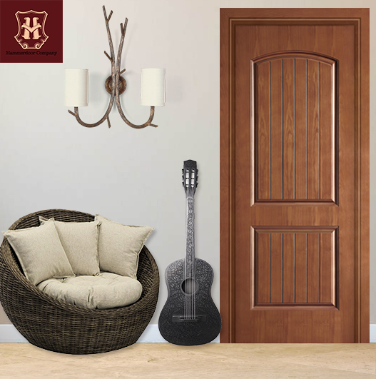 HONMAX Chinese style wood interior entry door personal customization for house design