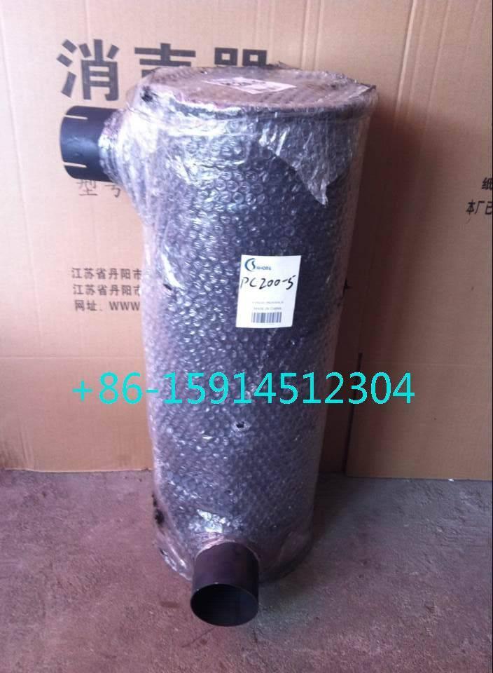 6209-11-5211 komatsu PC200-5 muffler with tube